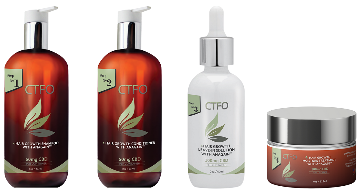CBD hair growth system